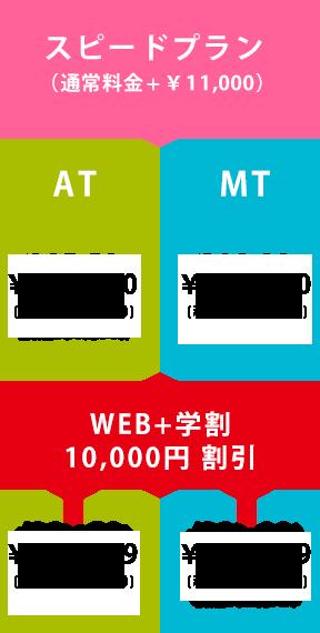 スピードプラン(通常料金+¥10,800)