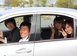Point6 実車での高速教習!