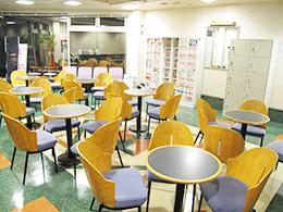 くつろぎカフェコーナー